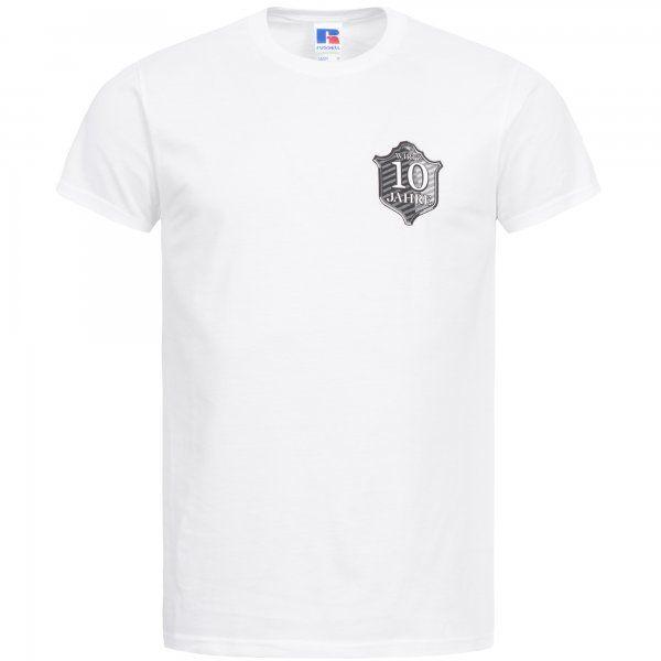 """Artikelbild 1 des Artikels T-Shirt """"10 Jahre """" weiß WM-100"""