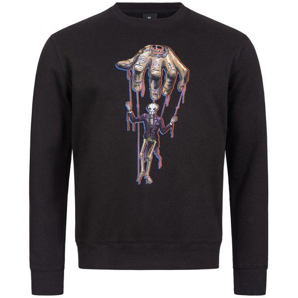 """Sweater """"Puppet"""" schwarz"""