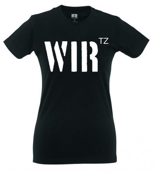"""Artikelbild 1 des Artikels Girlie Shirt """"WIRtz"""""""