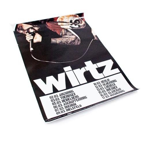 """Poster """"Akustik Voodoo Tour 2012"""""""