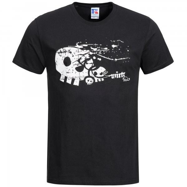 "T-Shirt ""Skull"" schwarz"