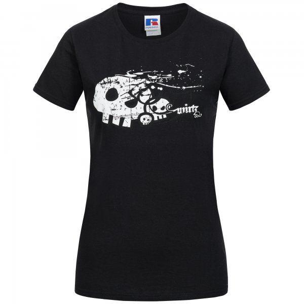 """Artikelbild 1 des Artikels Girlie Shirt """"Skull"""" schwarz WM-088"""