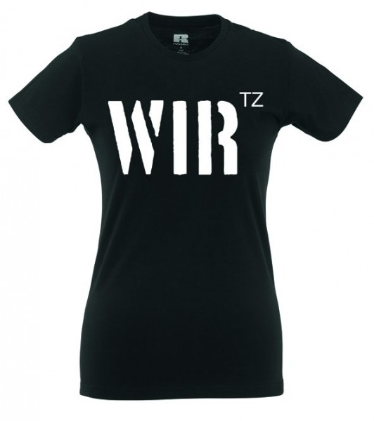 """Girlie Shirt """"WIRtz"""""""